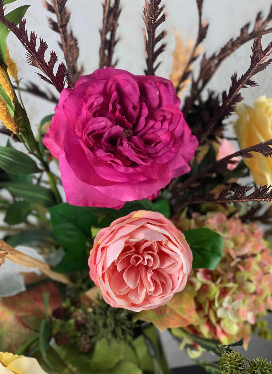 Zijden rozen