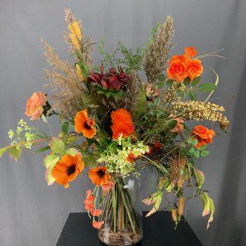 Herfst zijden bloemen