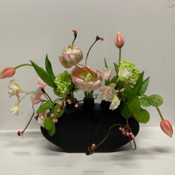 tulpenvaas roze