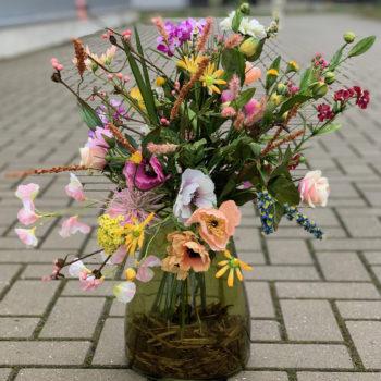 weiland boeket zijden bloemen