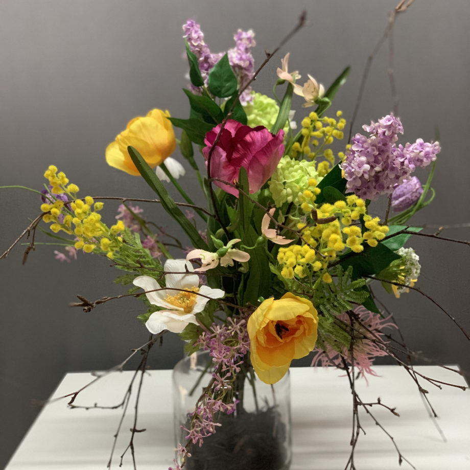 voorjaars zijden bloemen